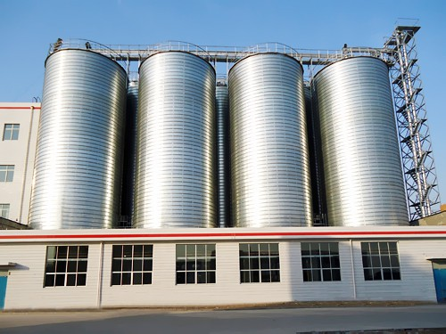 Brew Or Port Silo Offered By Brewery Grain Silo Manufacturer