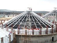 Silo Roof Structure