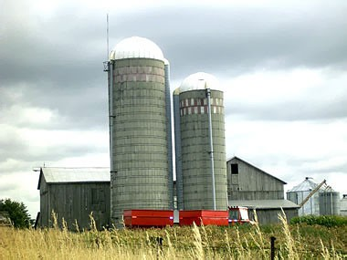 Concrete Tower Silo