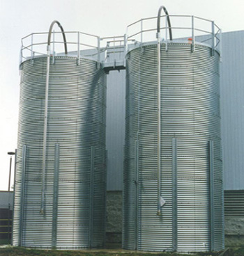 Corrugated Steel Silos