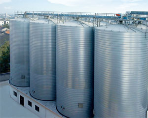 grain steel bin construction