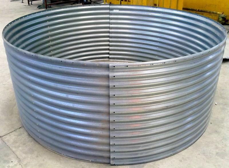 Corrugated Steel Grain Silo Corrugated Metal Silos For Sale