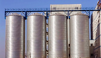 Corrugated Steel Grain Silo