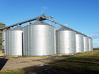Medium-scale Farm Silo